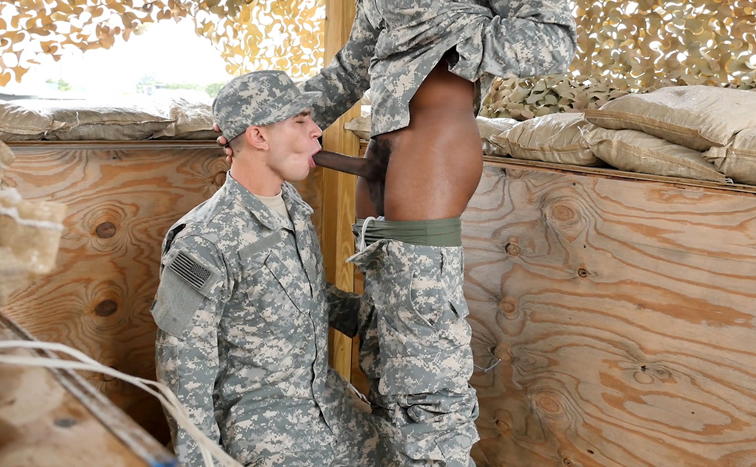 Army xxx gay movie jungle plumb fest 3